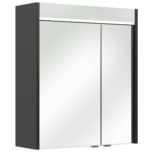 Velo 60 X 70cm Mirrored Wall Mounted Cabinet By Quickset