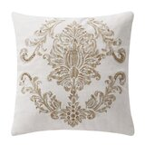 Annalise Cotton Throw Pillow by Waterford Bedding
