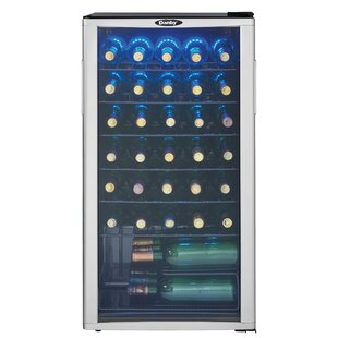 35 Bottle Single Zone Freestanding Wine Cooler