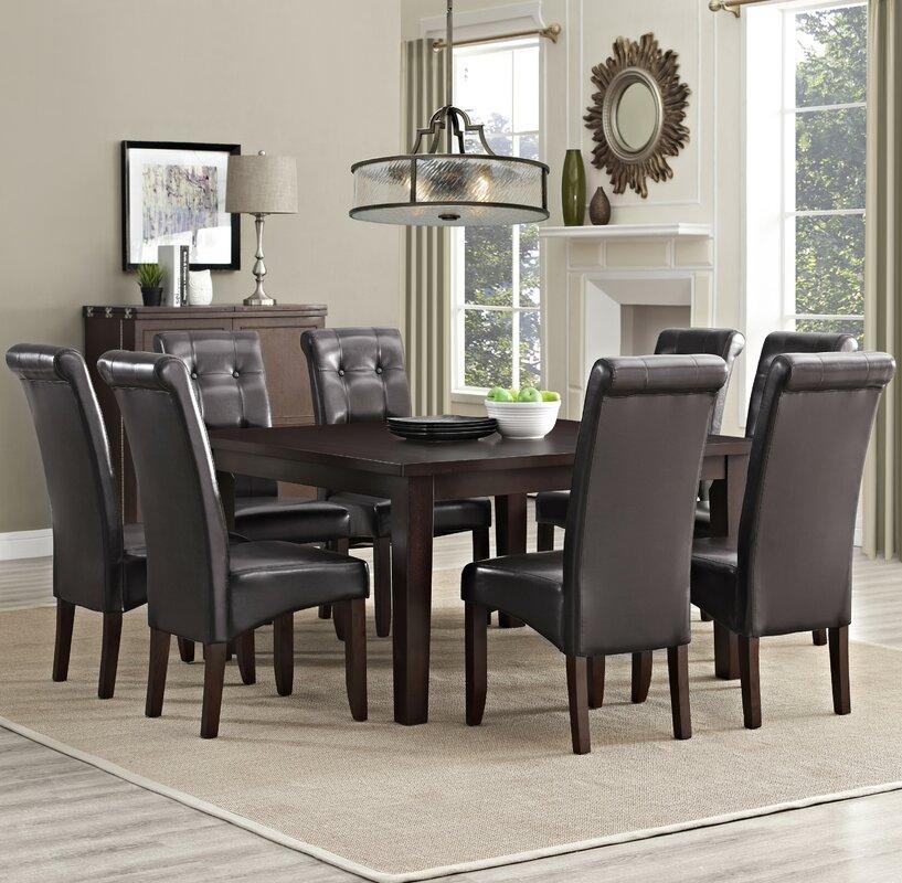 Simpli Home Eastwood 9 Piece Dining Set & Reviews | Wayfair