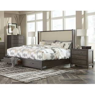 Easthampton Upholstered Storage Queen Panel Bed Configurable Bedroom Set