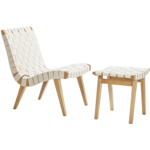 Design Tree Home Lounge Chair and Ottoma