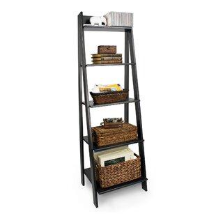 Seaberg Split 5 Shelf Ladder Bookcase by Red Barrel Studio