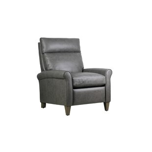 Roldao Leather Manual Recliner by Latitude Run