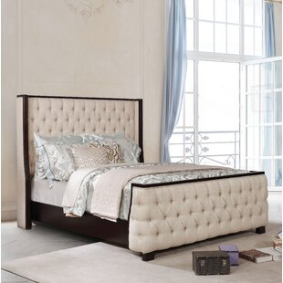 Akridge Upholstered Panel Bed by Darby Home Co