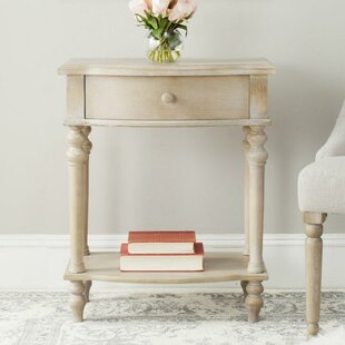 Tia End Table with Storage by Ophelia & Co.