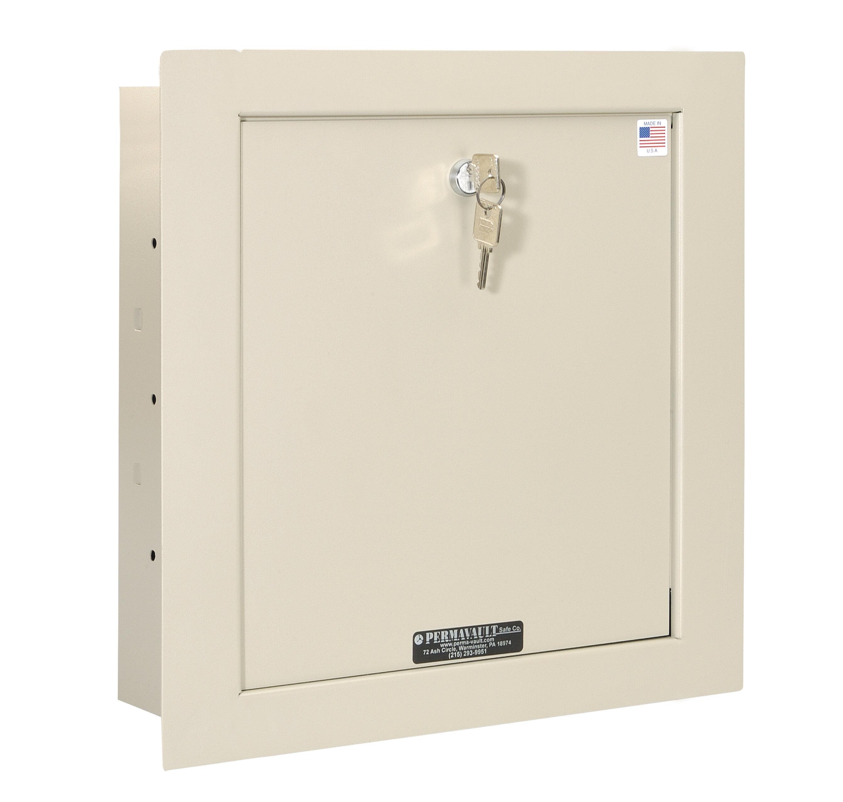 Perma Vault Key Lock Commercial Wall Safe 47 Cuft Wayfair