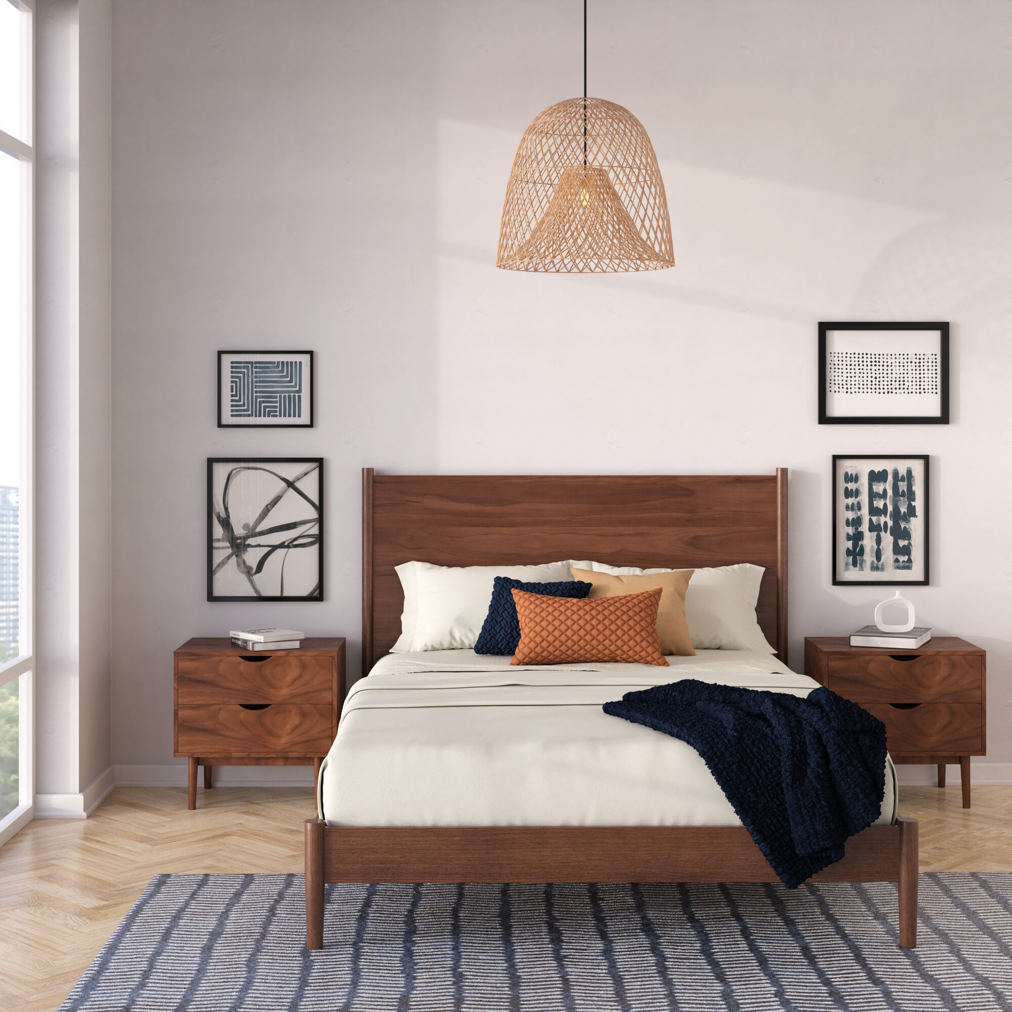 Mid Century Modern Bedroom Sets You Ll Love In 2020 Wayfair