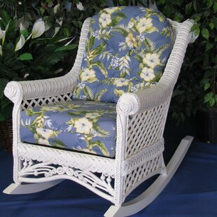 Gazebo Rocking Chair by Spice Islands Wicker