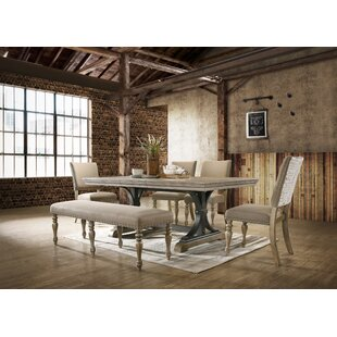 Dasher 6 Piece Drop Leaf Dining Set One Allium Way