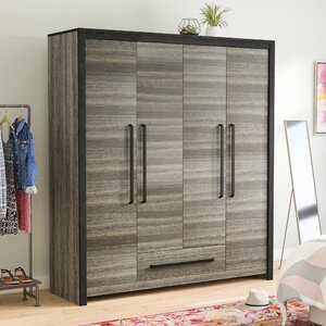 Dolloff 4 Doors 1 Drawer Armoire