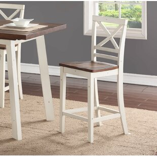 Yeboah 24 Bar Stool (Set of 2) August Grove