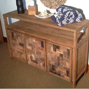 Bailey Mozaik 3 Wooden Door Buffet by Rosecliff Heights