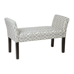 Finlayson Upholstered Bench by Andover Mills