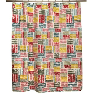 Weeks Single Shower Curtain