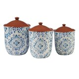 Canister 3 Piece Kitchen Canister Set (Set of 3)