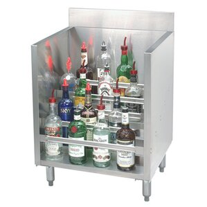 Stainless Steel Liquor 15 Bottle Floor Wine Bottle Rack by Rebrilliant