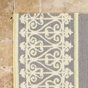 Pandora Hand-Woven Gray Indoor/Outdoor Area Rug