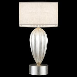 Allegretto Silver 33 Table Lamp