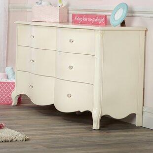 Suite Bebe Julia 6 Drawer Double Dresser Image