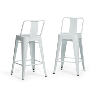 Price comparison Sturges 24 Bar Stool (Set of 2) by Williston Forge