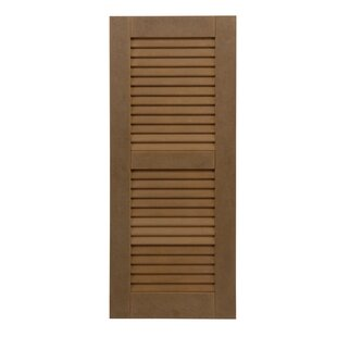 RockBridge Composite Louvered Shutter (Set Of 2)