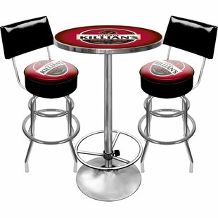 Killians Beer Game Room 3 Piece Pub Table Set