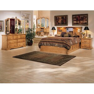 Lucie Storage Platform Configurable Bedroom Set