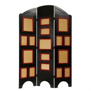 Rossman Arc 3 Panel Room Divider by Bloomsbury Market
