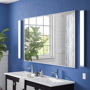 Top Reviews Tinney Bathroom Wall Mirror ByLatitude Run