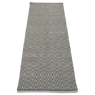 Best Reviews Fortin Designed Gray/White Indoor/Outdoor Area Rug ByBungalow Rose