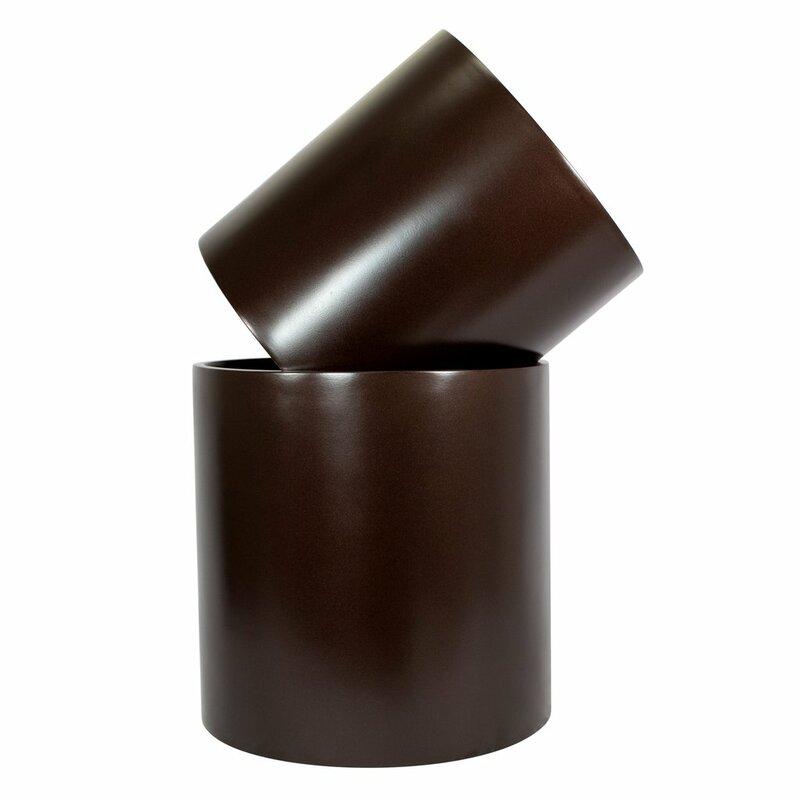 Mercury Row  Sheilds Cylinder Fiberglass Pot Planter