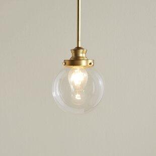 Zipcode Design Cayden 1-Light Globe Pendant
