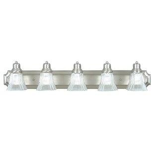 Delafuente 5-Light Vanity Light By Winston Porter