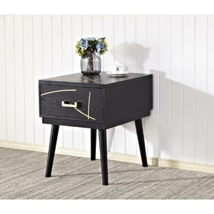Wall End Table with Storage