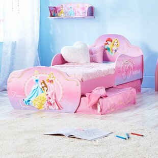 On Sale Disney Princess Convertible Toddler Bed With Drawers