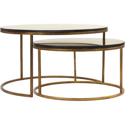 Cheri 2 Piece Coffee Table Set (Set Of 2)