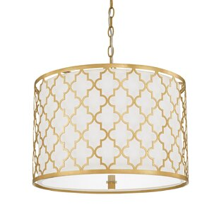 Willa Arlo Interiors Reidar 3-Light Pendant