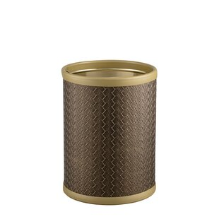 Kraftware San Remo Steel Waste Basket