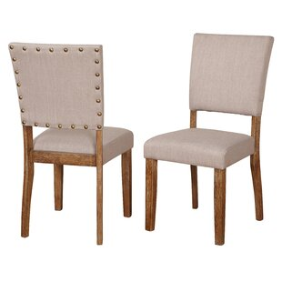 Lassiter Upholstered Dining Chair (Set of 2) Gracie Oaks