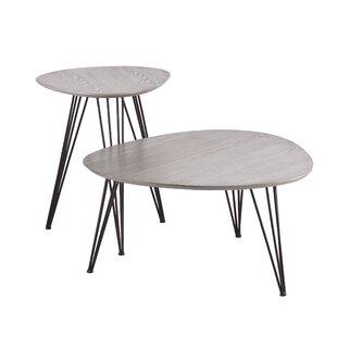 Alena 2 Piece Coffee Table Set