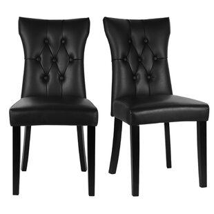 Mayview Upholstered Dining Chair (Set Of 2) By Rosalind Wheeler