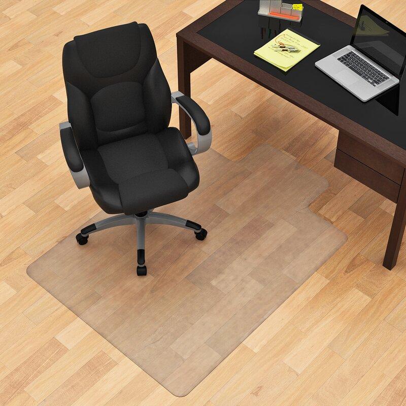 Z Line Designs Hard Floor Straight Edge Chair Mat Reviews Wayfair