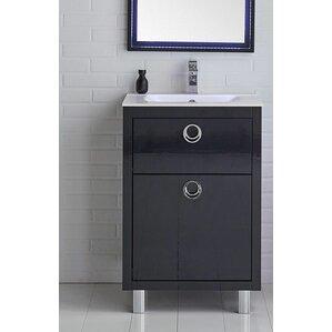 Bathroom Vanities Wayfair navy bathroom vanity | wayfair