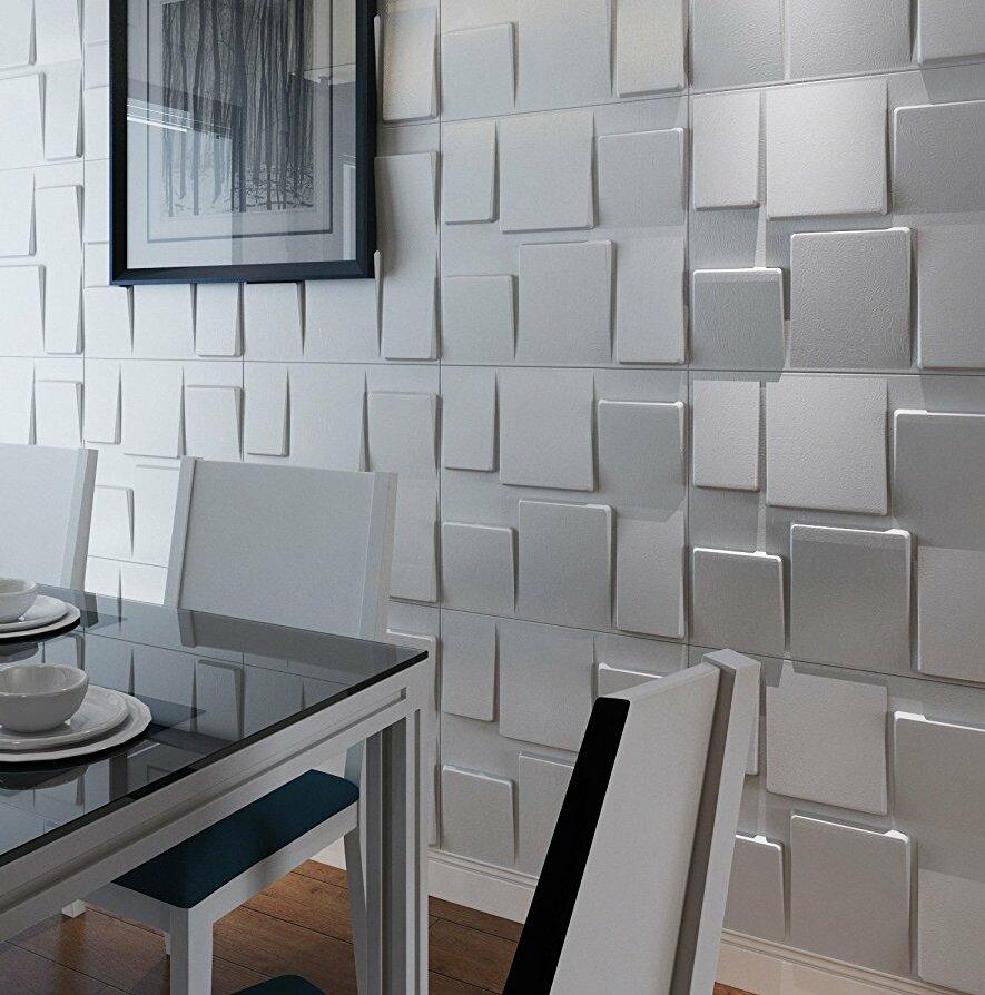 Vindas 19 7 L X 19 7 W 3d Embossed Wallpaper Panel