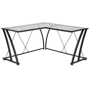 Latitude Run Clover L-Shape Corner Desk