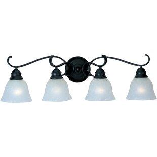 Deals Streator 4-Light Vanity Light By Alcott Hill
