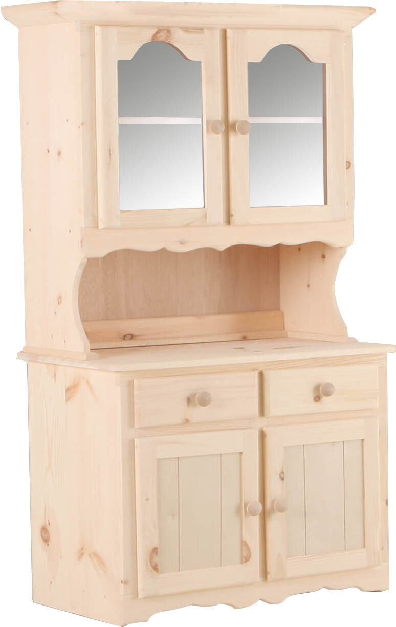 Dining Hutch Pine Display China Cabinets You Ll Love In 2021 Wayfair