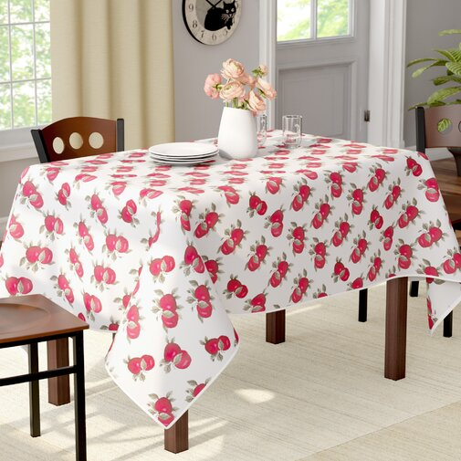 Burriss Apples Classic Tablecloth