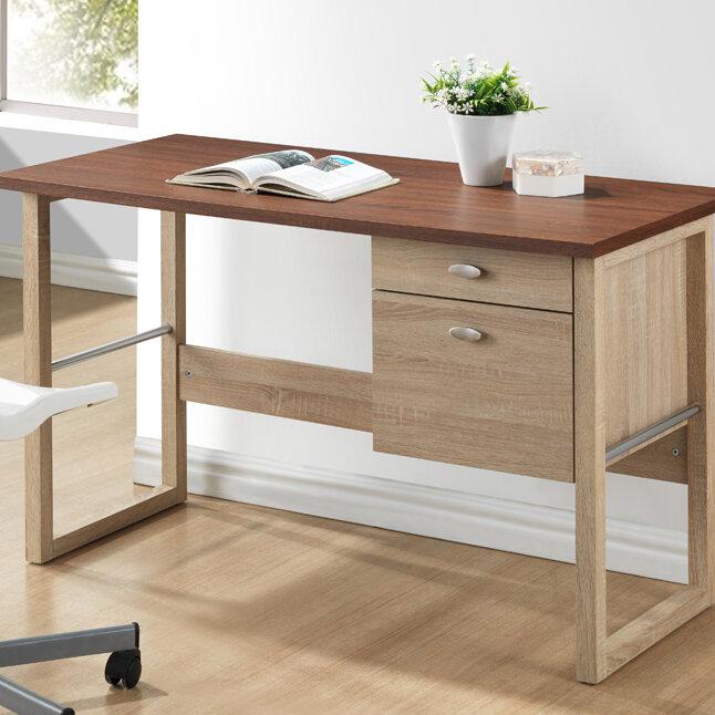 Wholesale Interiors Baxton Studio Van Buren Desk U0026 Reviews | Wayfair